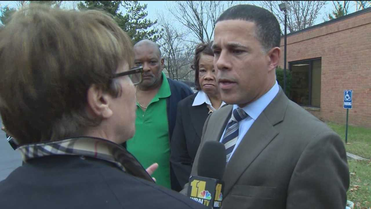 I-Team lead investigative reporter Jayne Miller confronts Lt. Gov. Anthony Brown about his roll in the Affordable Care Act rollout in Maryland.