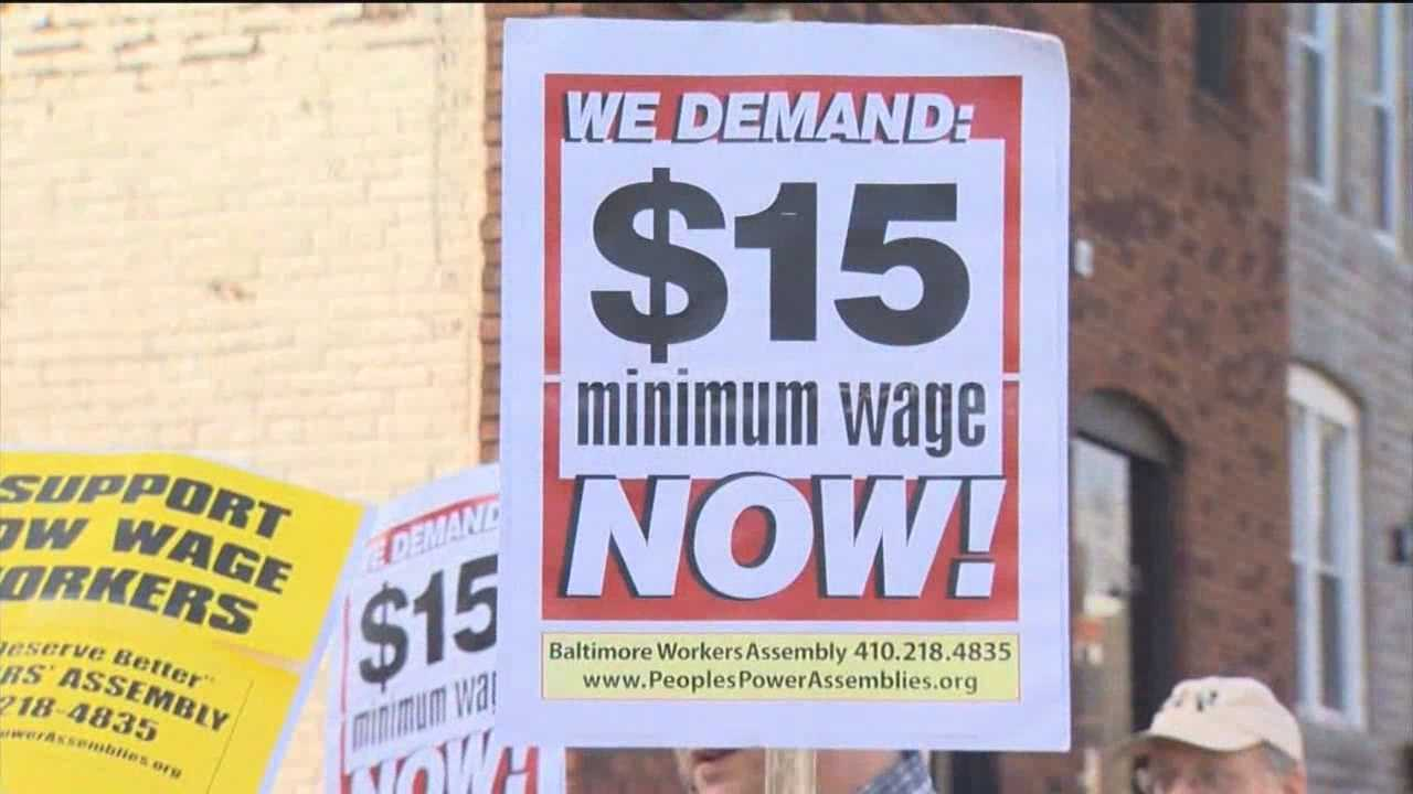 The current minimum wage is $7.25, and there have been no increases to even keep up with the cost of living since 2007.