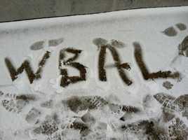 Feelin' the pride even in snow