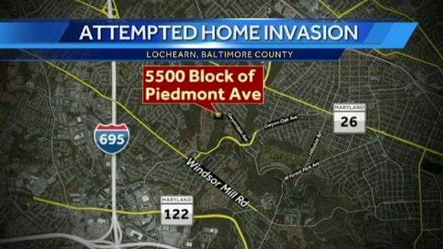 Piedmont Ave home invasion graphic