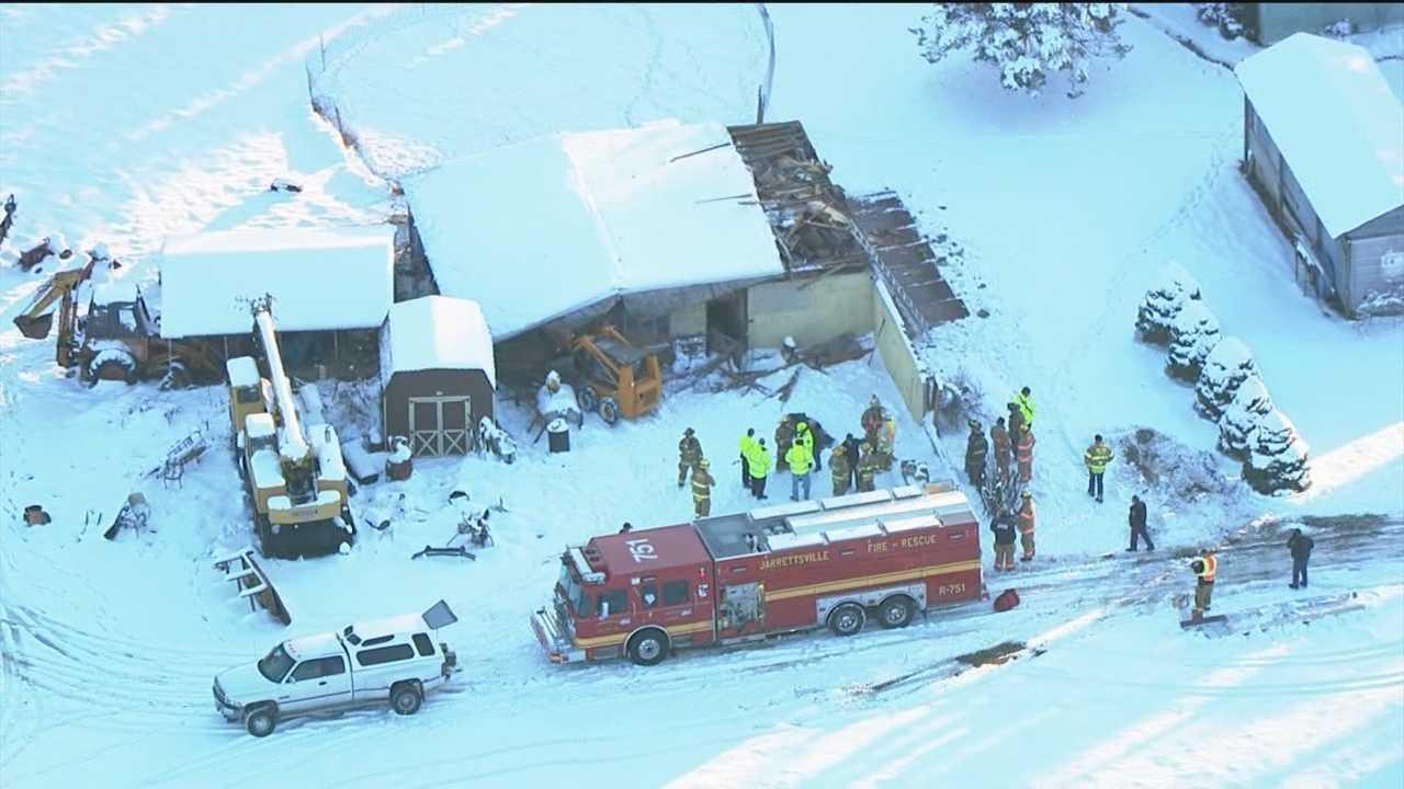 Jarrettsville barn collapse
