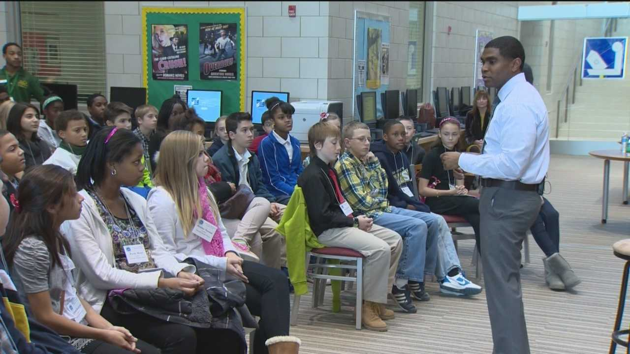 Students in Baltimore County had the opportunity to address concerns with Superintendent Dr. Dallas Dance.
