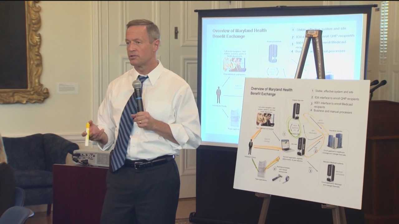 While Maryland has had a tough start with health care reform, Gov. Martin O'Malley is hopeful the state will make up ground in the coming months.