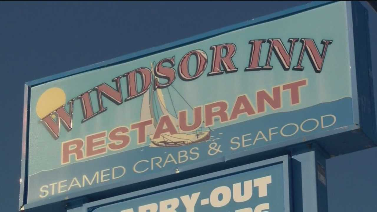 Baltimore County police said someone fatally shot a security officer while he was trying to break up a fight at the Windsor Inn Crab House.
