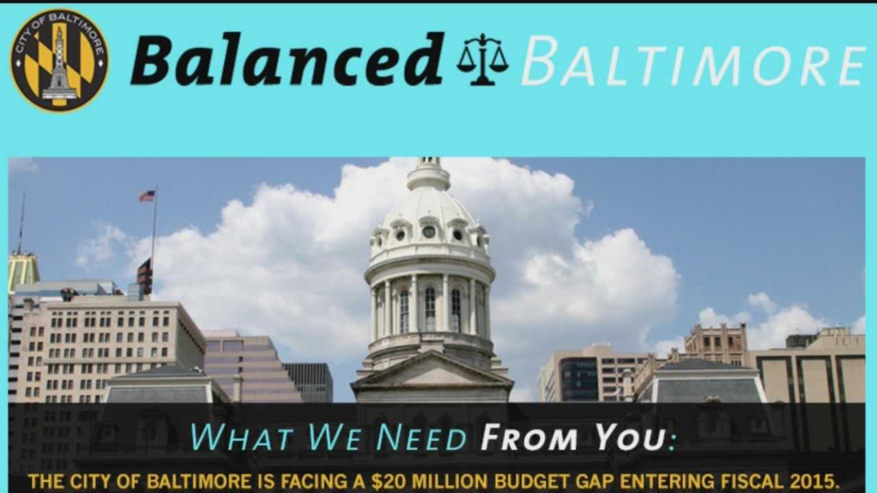 The mayor and several local businesses announced on Monday the launch of Balance Baltimore, an initiative that allows city dwellers to submit an online application with their ideas for balancing the city budget.