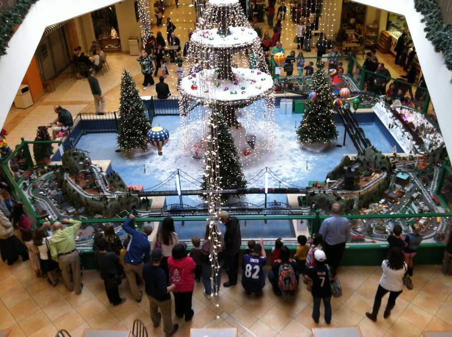 WBAL-TV photographer Tommy Culp shares these photos of theKenilworth Mall Train Garden in Towson.