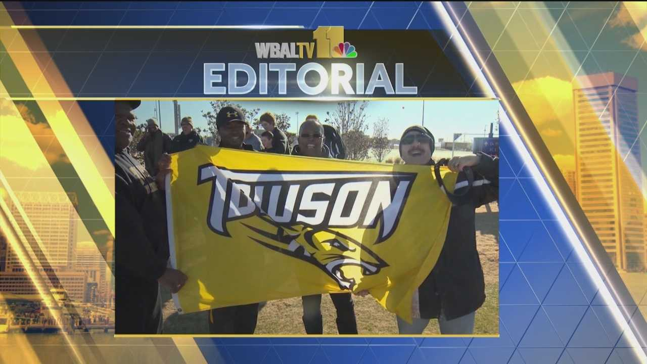 We congratulate the Towson University football team for making its way through the playoffs.