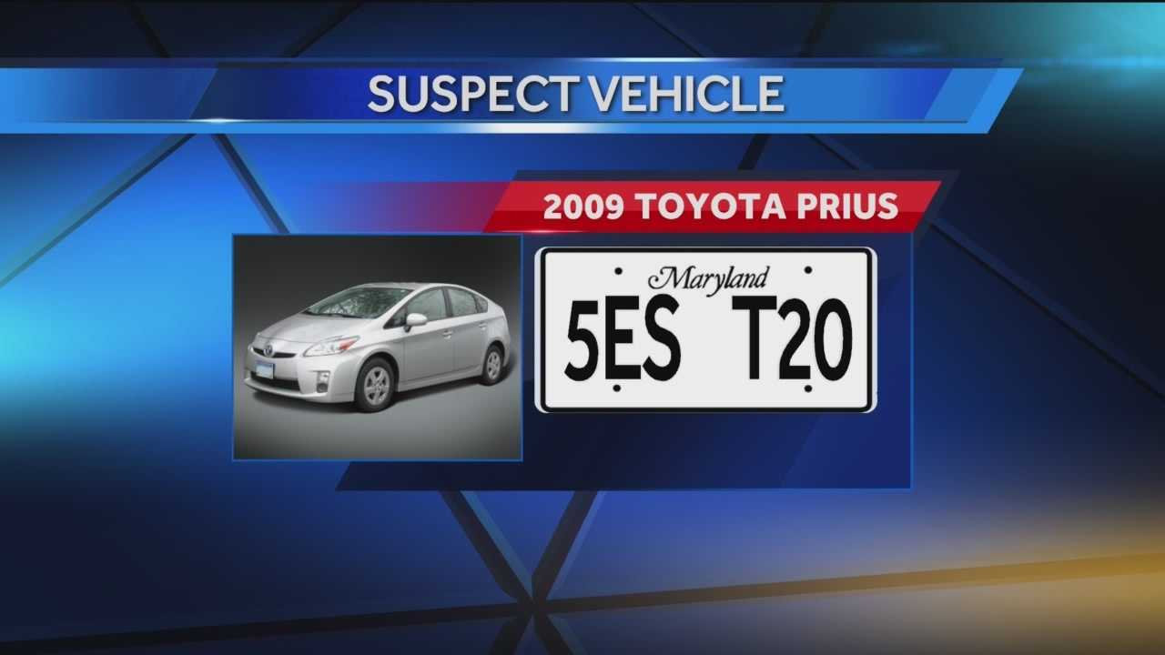 Authorities are looking for a stolen car and the person responsible after the car's owner was beaten with a brick and robbed of other belongings in Canton.