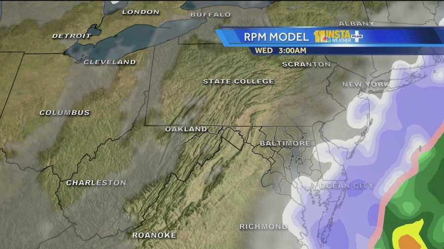 Watch the latest forecast