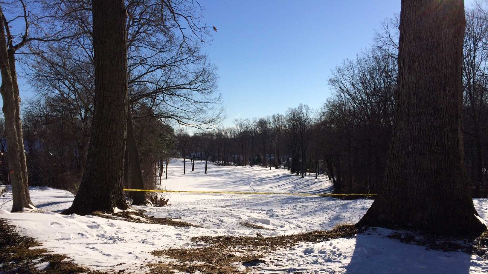 A woman's body is found on the grounds of the Bay Hills Golf Club in Arnold.