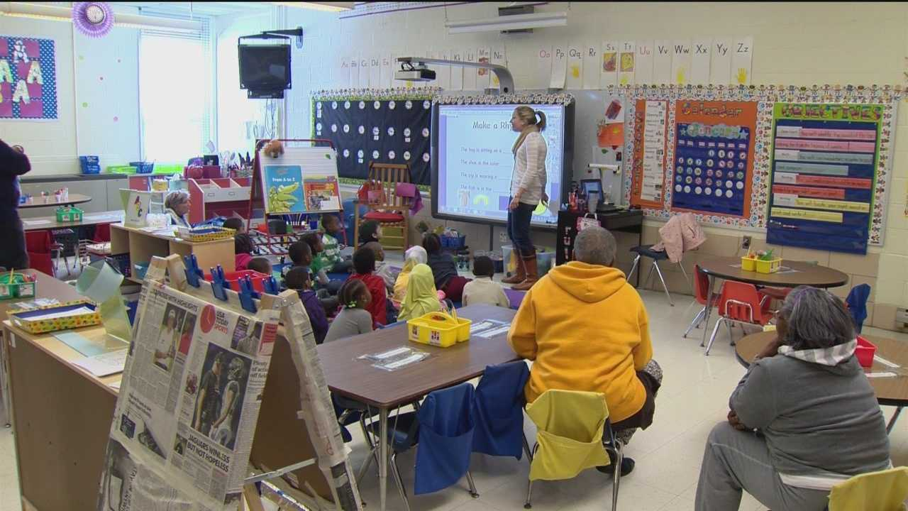 The governor made mention of the pre-K program during his State of the State message Thursday, saying he wants to spend more than $4 million on full-day prekindergarten.