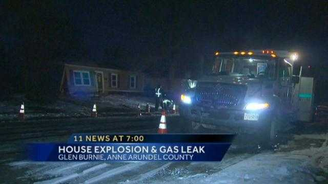 Glen Burnie home explosion