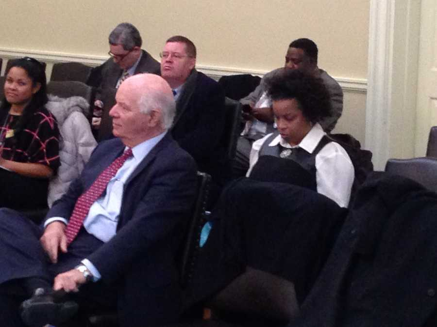 Jan. 24: U.S. Senator Ben Cardin gets set to address the Baltimore City delegation.