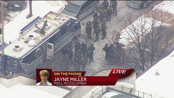 Jayne Miller reports from Columbia Mall, where three people were fatally shot.