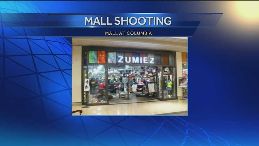 Police said three people were shot and killed in a skate shop called Zumiez on mall's upper level.