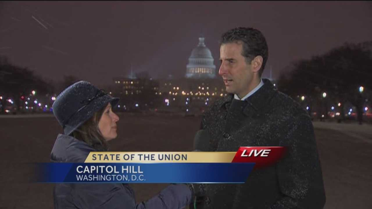 Rep. John Sarbanes talks with 11 News reporter Deborah Weiner about his thoughts on the President's State of the Union speech.