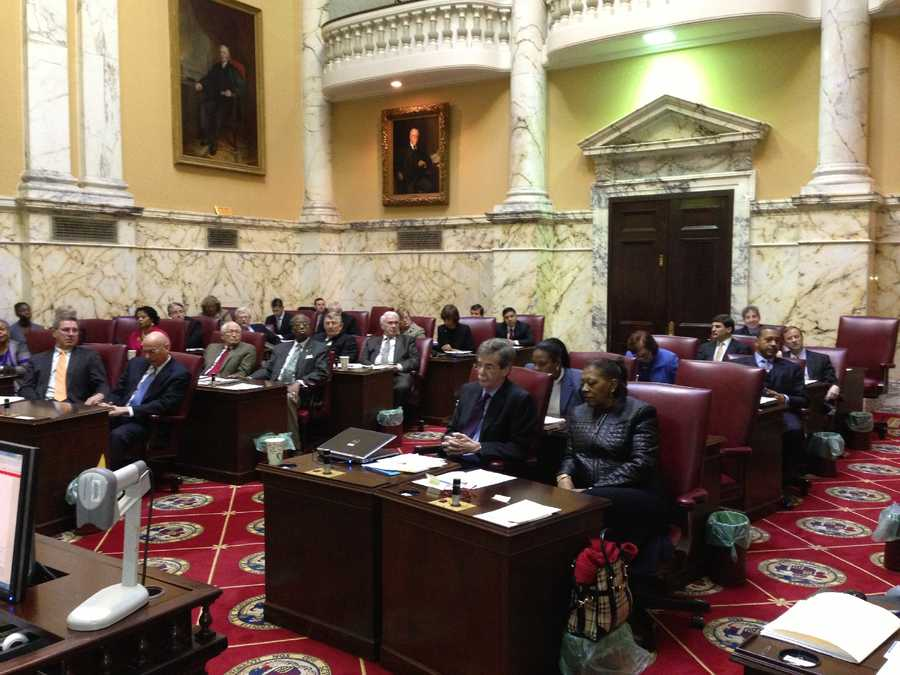 Jan. 29: The Senate votes 34-7 to pass the governor's emergency health insurance bill. The House passed the measure on Jan. 28 but made a change, so it went back to the Senate.