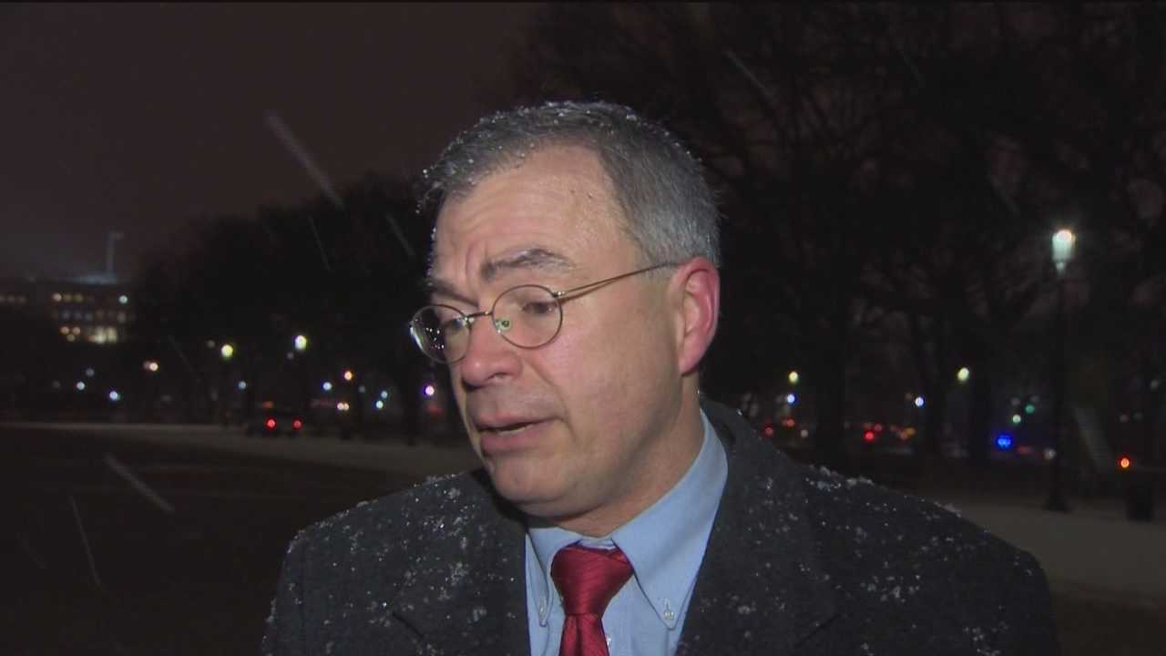 Maryland Rep. Andy Harris, a Republican, and Democratic Rep. John Sarbanes respond to President Barack Obama's State of the Union speech.