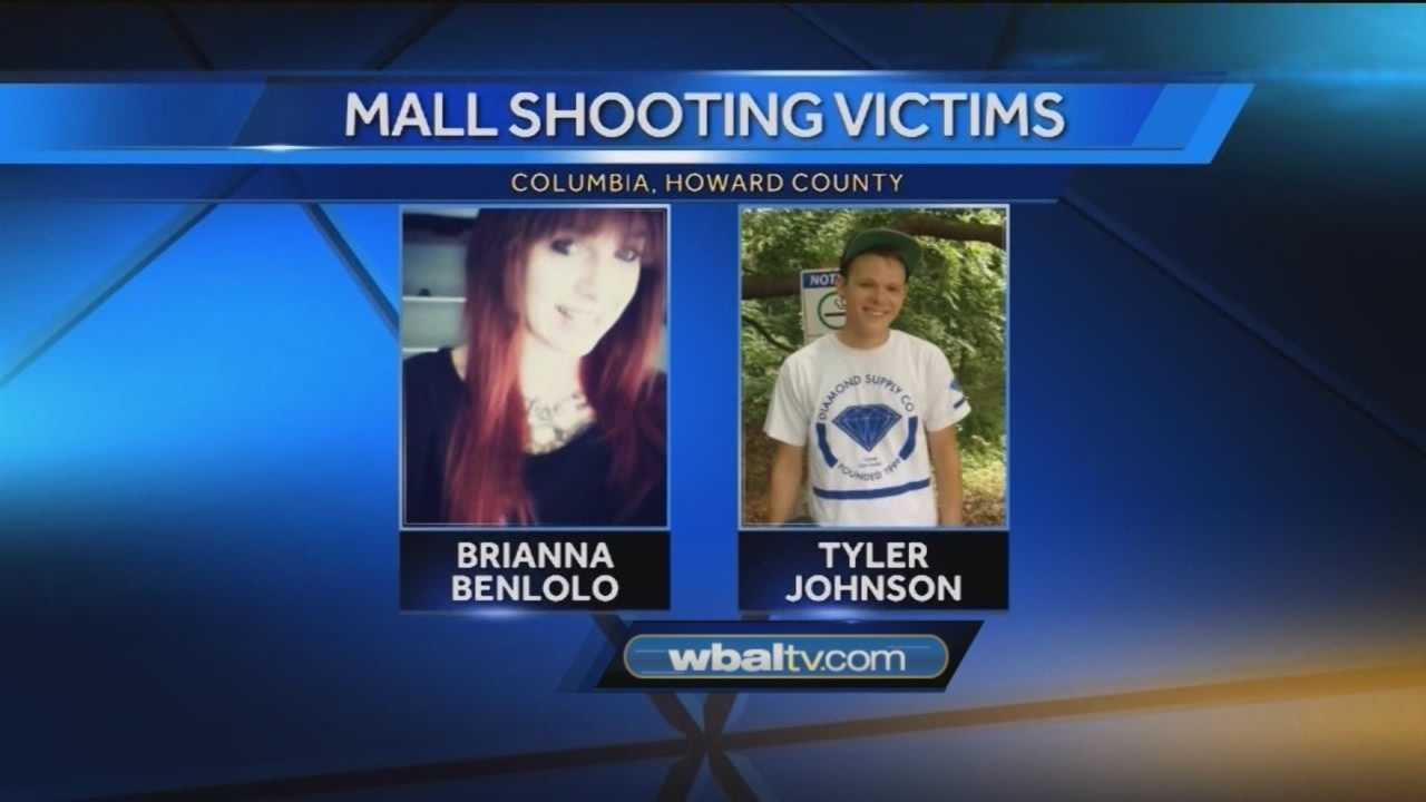Columbia Mall honors the victims of last week's shooting, that killed two.