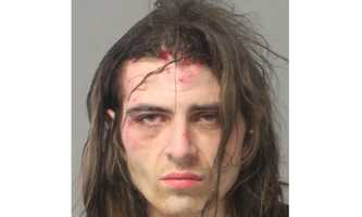 Police said Ian Todd Brown, 28, was charged with controlled substance-related offenses.