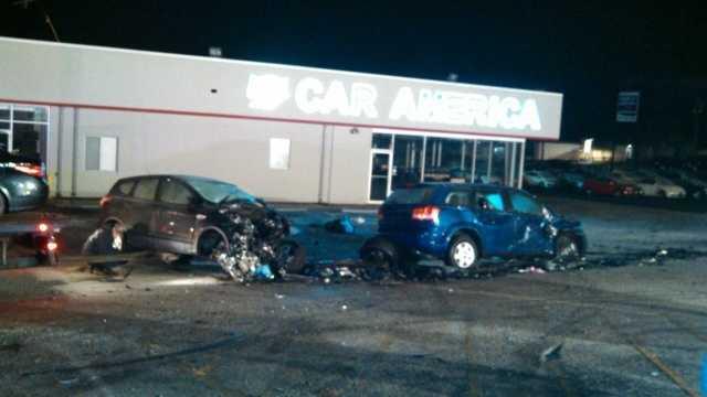 Laurel crash, robbery suspects