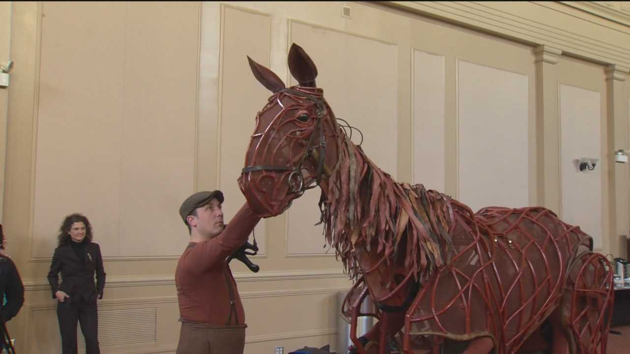 War Horse, the Broadway show telling the story of an amazing friendship between a young boy and his horse, is now playing at Baltimore's Hippodrome Theatre.