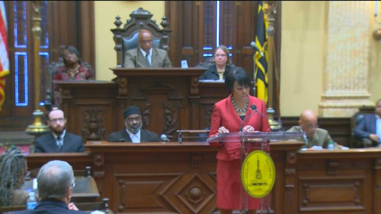 During her annual State of the City speech, Baltimore Mayor Stephanie Rawlings-Blake is focusing on creating safer streets with new proposals for cutting crime.