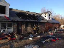 Three residents escaped a house fire that caused tens of thousands of dollars in damages in Odenton. Read the full story here.