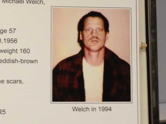 Welch, a convicted sex offender, has been in prison in Delaware since 1997, authorities said.