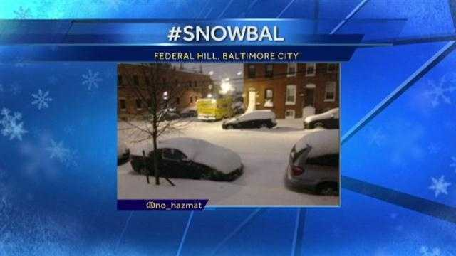 If you're posting photos, be sure to use the hashtag #snoWBAL!