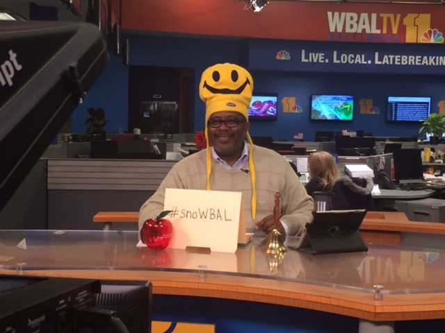 11 News education reporter Tim Tooten gives us the closings as they roll in while showcasing his MANY hats.
