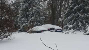 """Laura from Phoenix, Md. says they are """"trying to find our cars and the deck."""""""