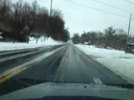 Route 30 northbound