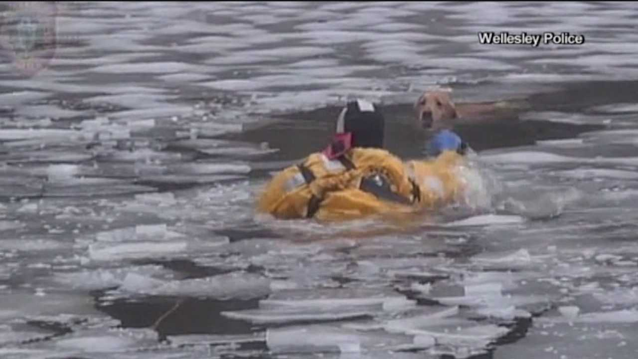 Officials: As temperatures rise, stay off ice