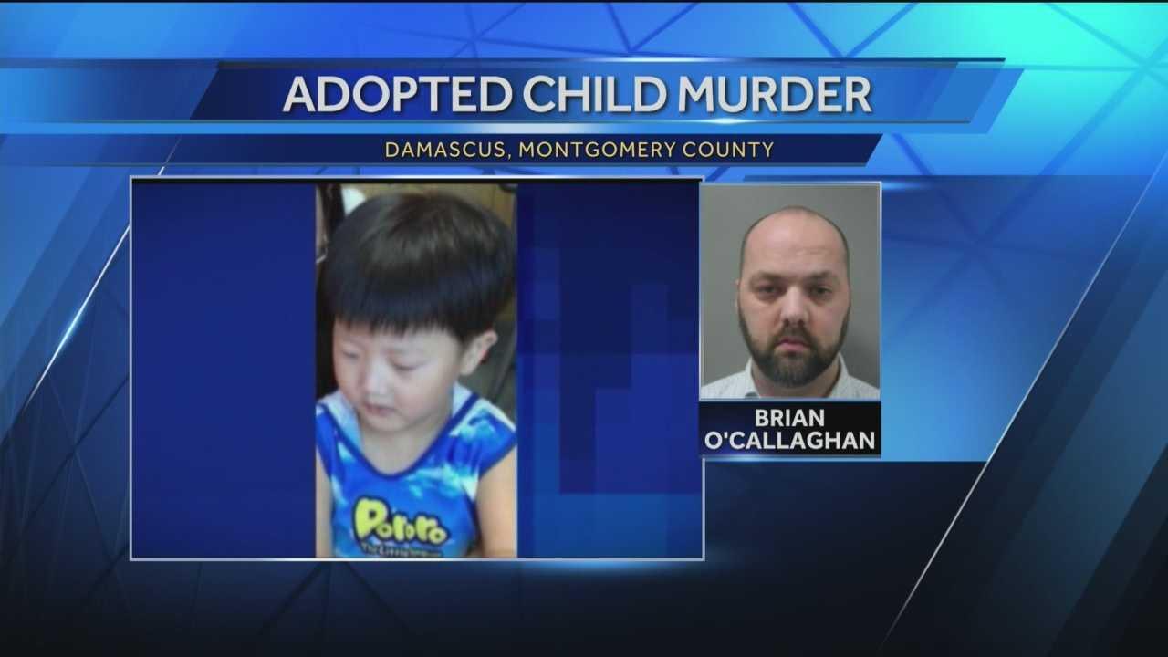 Brian O'Callaghan and adopted son