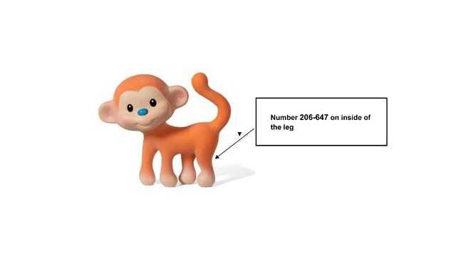 Go Gaga Squeeze & Teethe CoCo the Monkey toys