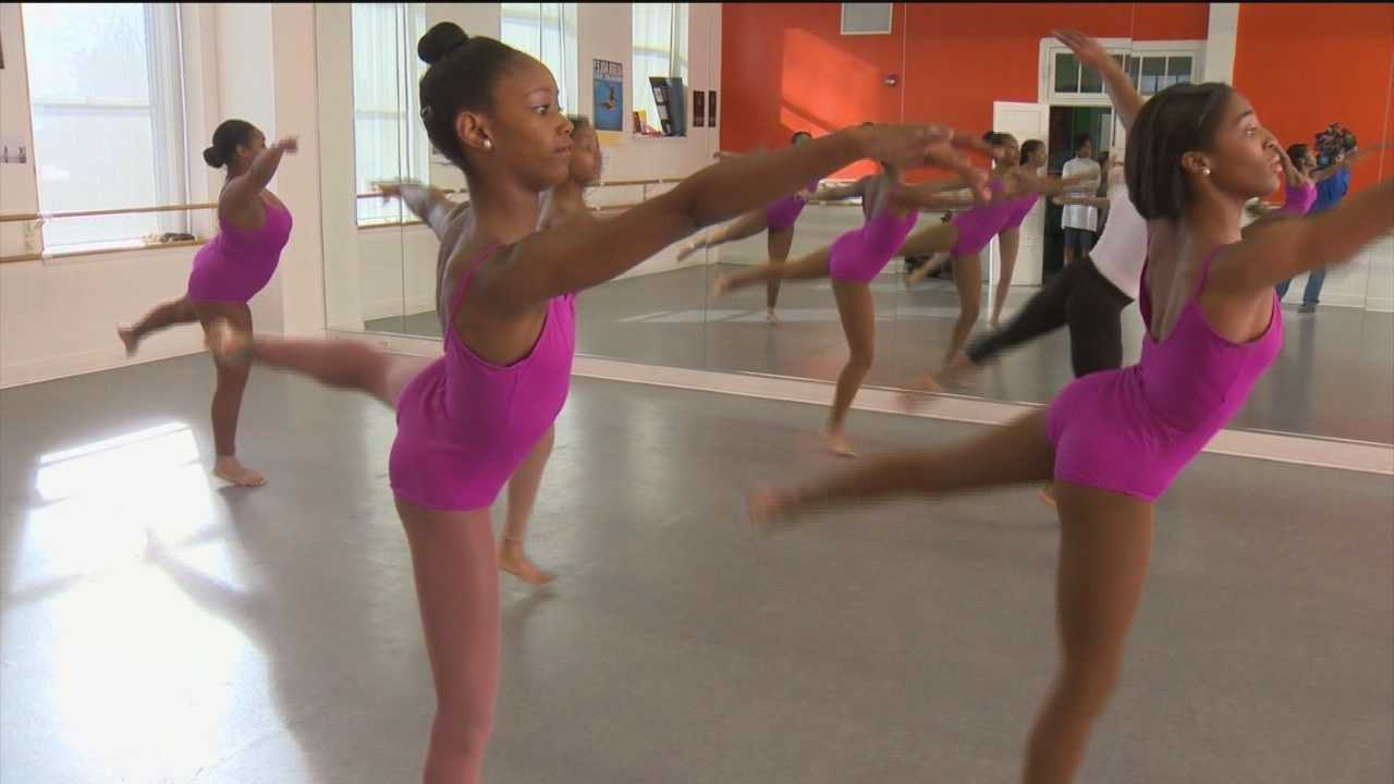 Several high school students are part of the Rayn Fall Dance Program. It's one of the many programs run by the nonprofit Muse 360 to help students broaden their horizons in the arts.