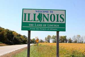486 moved to Illinois. The top three counties that gained residents were lake, Madison and Will.