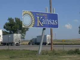 633 moved to Kansas. The top three counties that gained residents were Johnson, Sedgwick and Geary.