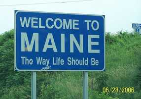 351 people from Maine moved to Maryland. The top three counties vacated were Oxford, Androscoggin and Cumberland.