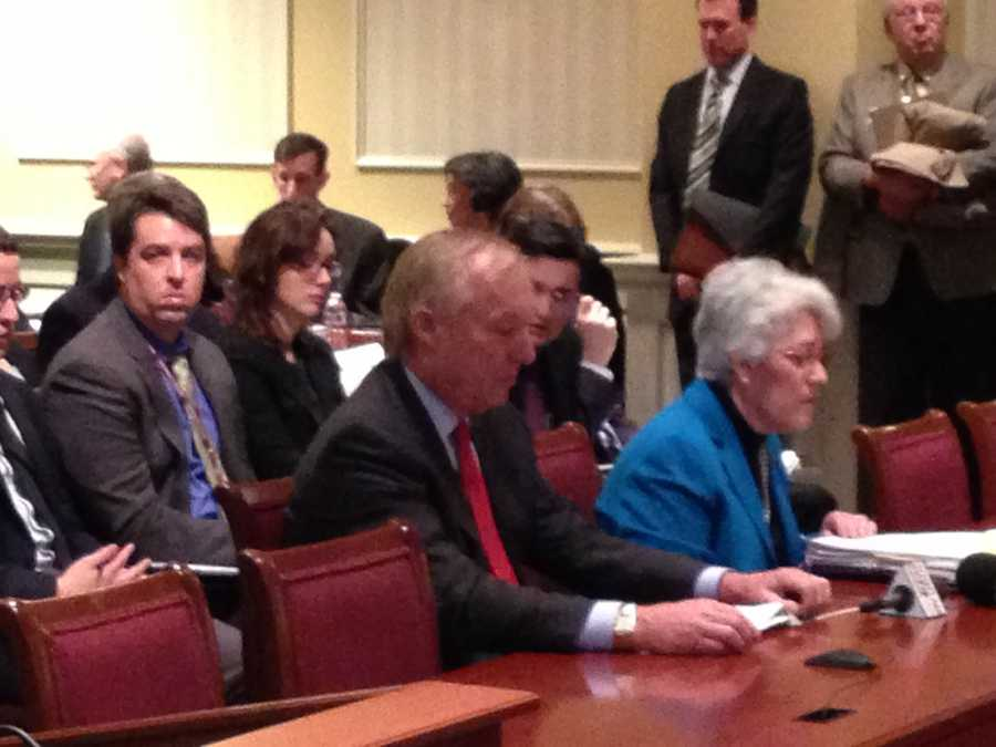 Feb. 26: Franchot and Kopp testifying on budget and taxes.