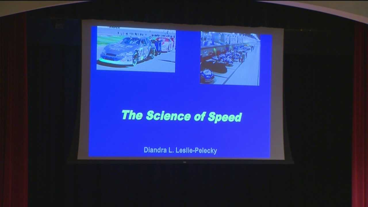 Students learn science of speed
