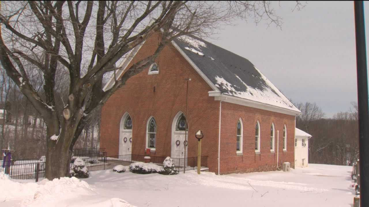 While the Bethesda United Methodist Church is beautiful inside, they're going to trying something new on the outside on Ash Wednesday this year.