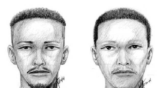 Strip club stabbing suspect sketches