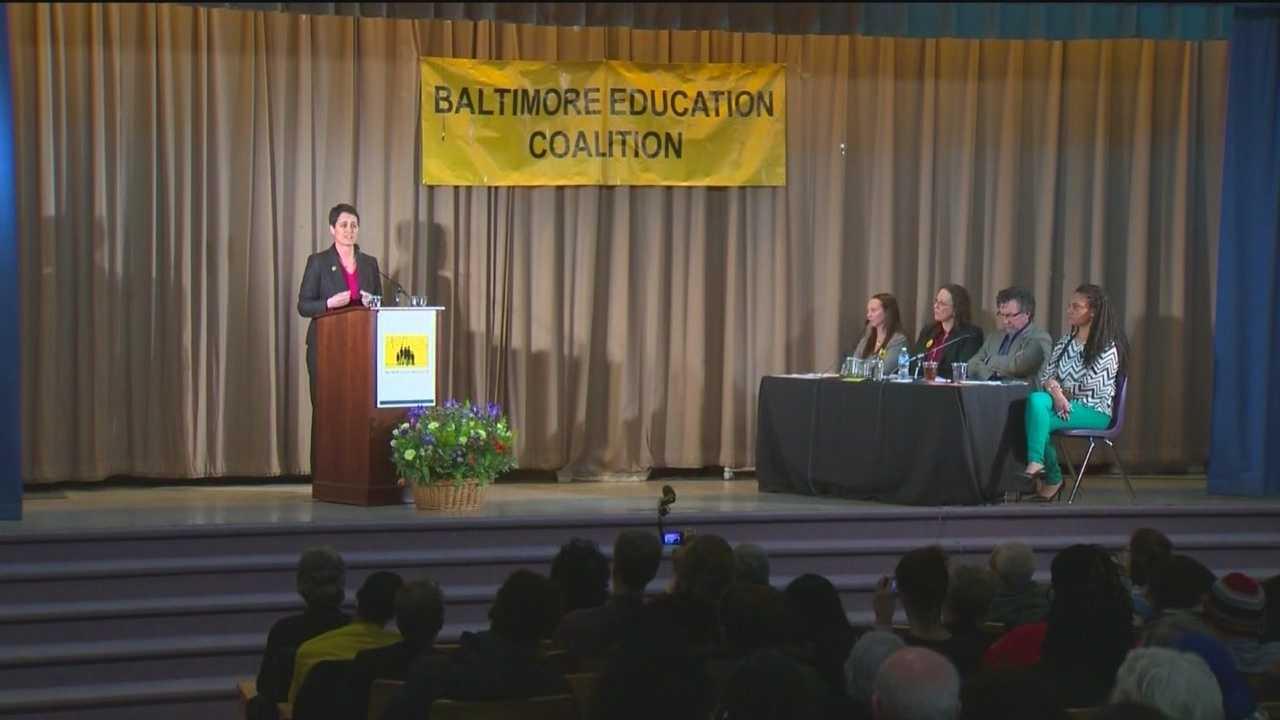 Dem. gubernatorial candidates talk education at city forum