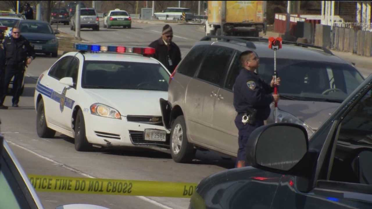 A teenager in custody after a police-involved shooting in Baltimore on Thursday morning.