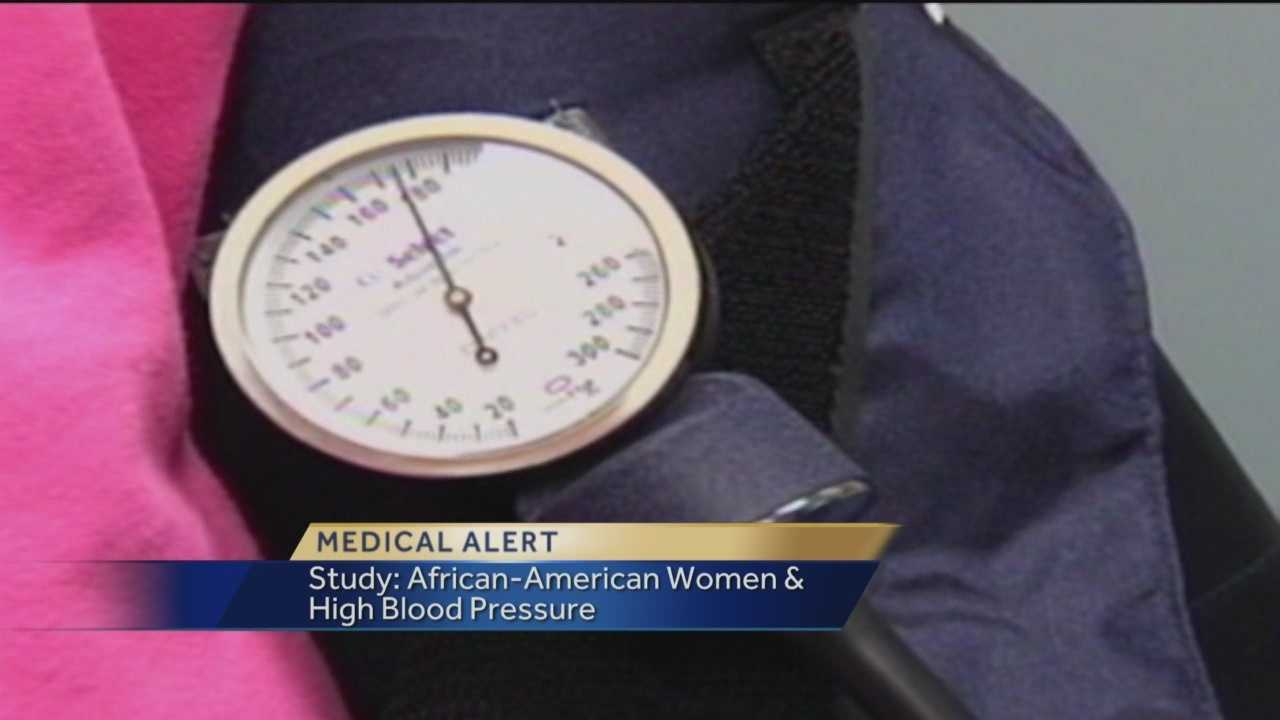 According to a new study out of Vanderbilt University, black women are much more likely to have high blood pressure than black men, white women or white men.