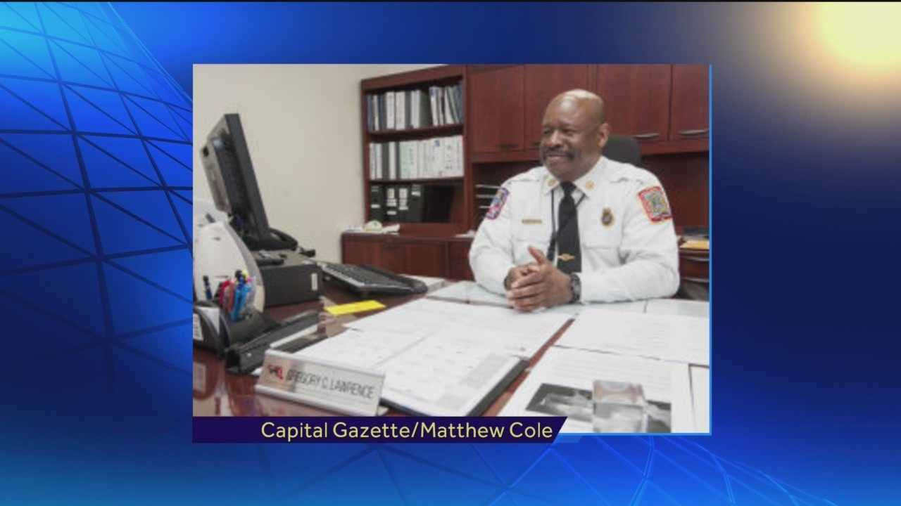Former BWI acting fire chief Gregory Lawrence