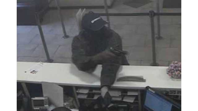Rockville bank robbery surveillance