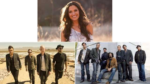 Counting Crows, The Fray, Annie Bosko